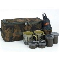 Къмпинг комплект с несесер Fox Camolite Brew Kit Bag